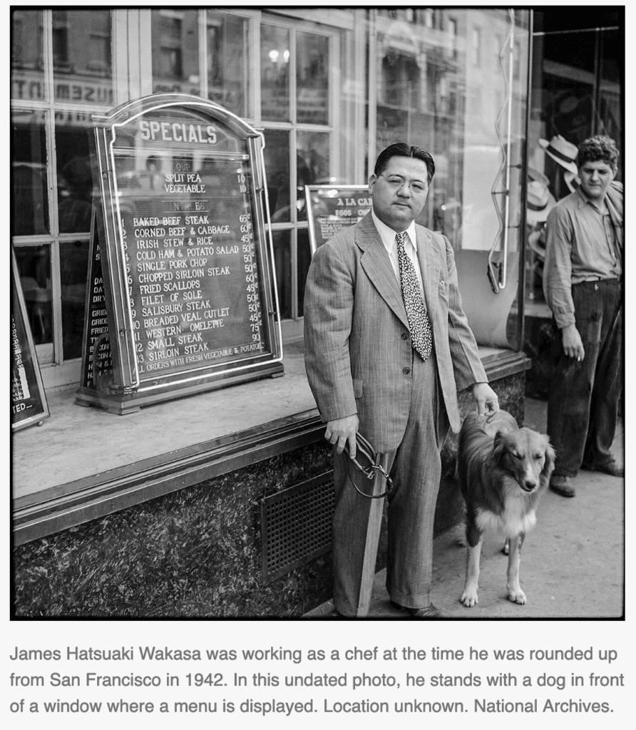 James Hatsuaki Wakasa - National Archives