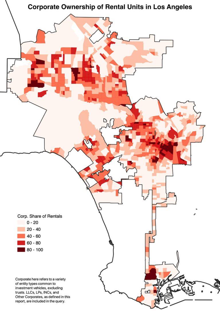 Corporate Ownership of Rental Housing in LA