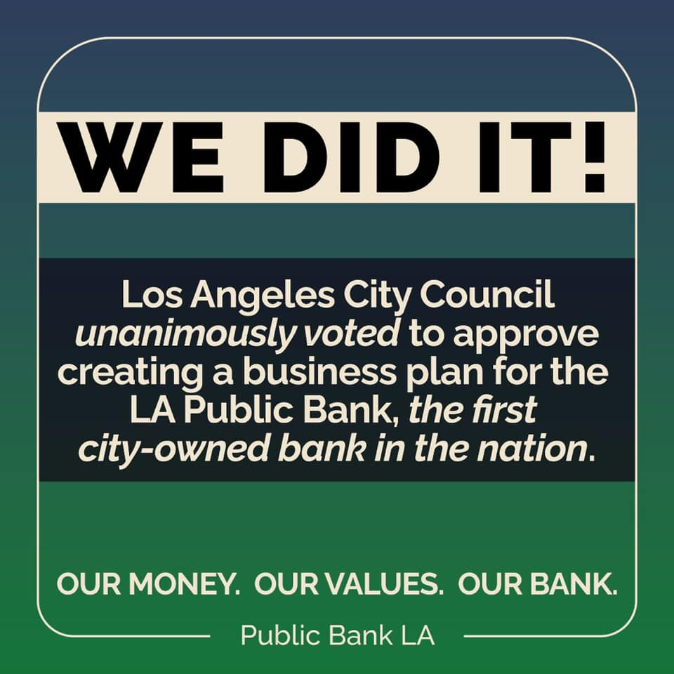 Los Angeles City Council votes to